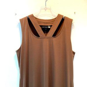 Antthony Tan Jersey Maxi Dress w/Cut Outs